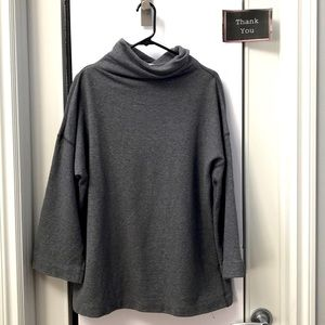 James Perse Funnel Neck Sweater